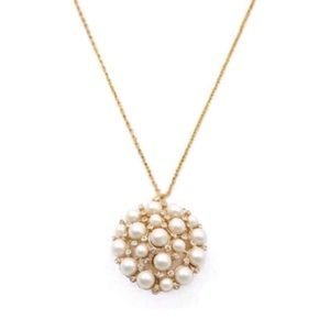 KATE SPADE • Cluster of Pearls Pendant Necklace